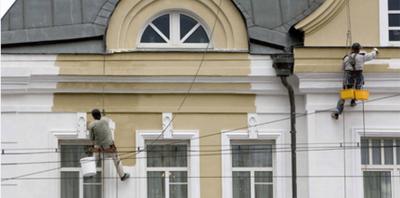 Ремонт и реставрация фасадов зданий в Черкассах