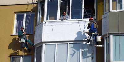 Утепление балкона в Черкассах